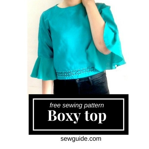 boxy top pattern