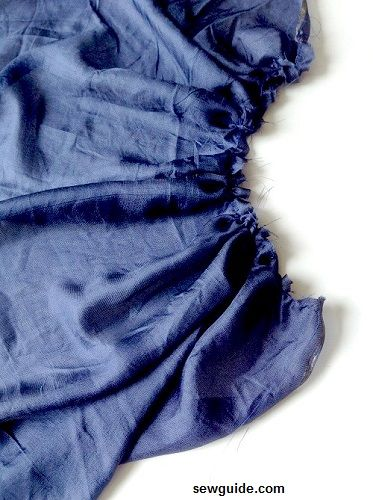 how to sew a smock dress