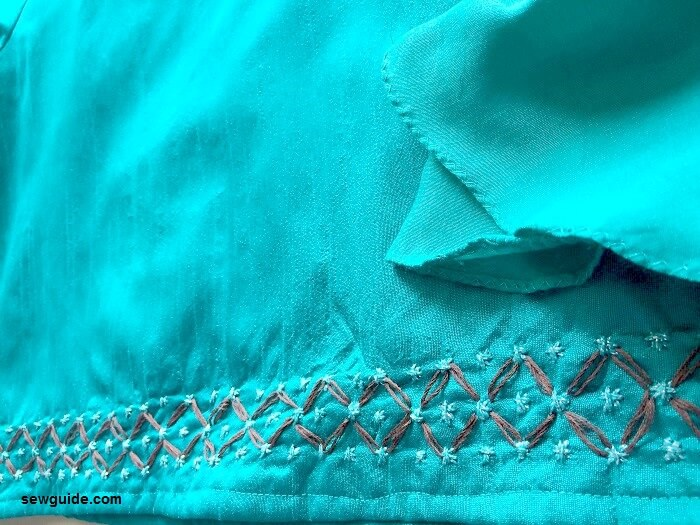 embroidered top pattern