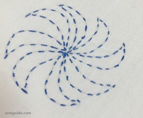 Learn Sashiko Hand Embroidery Beautiful Japanese Embroidery Design Tutorial Sew Guide