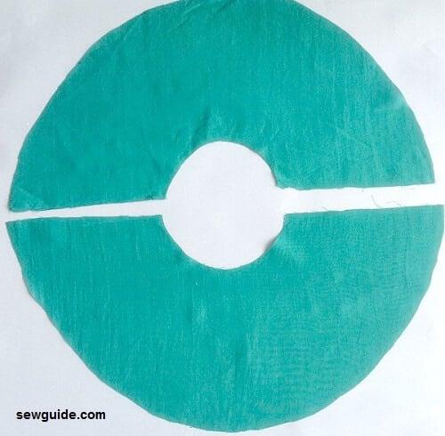 flute sleeve pattern