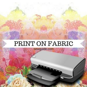 graphic relating to Printable Iron on Fabric named A easy advisor in direction of inkjet printing upon cloth - Sew Specialist