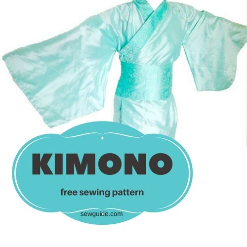 kimono sewing pattern - diy