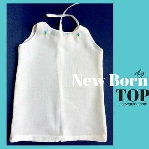 newborn baby top