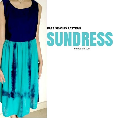 Make your own simple SUNDRESS- free sewing pattern & tutorial - Sew ...