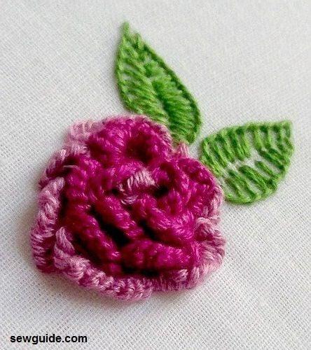 3 flower embroidery diy tutorial