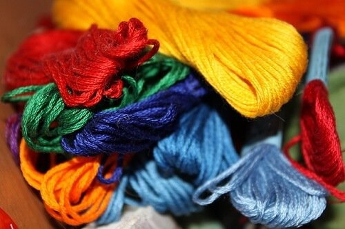 hand embroidery floss types