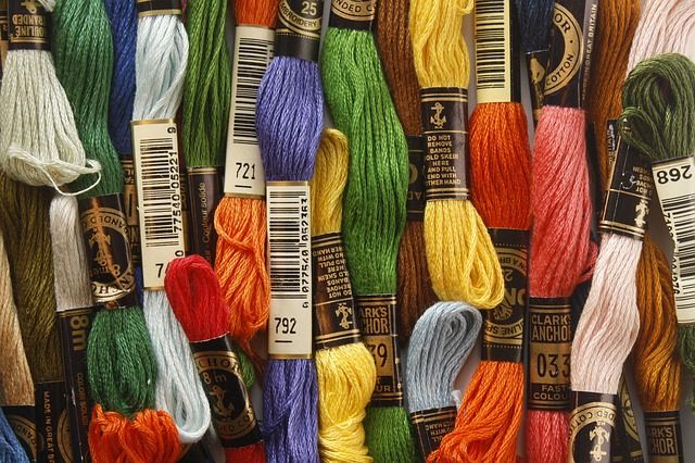 embroidery thread types