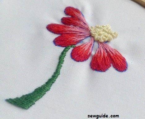 Types Of Threads >> 6 of my favourite FILLING STITCHES in Embroidery - Sew Guide