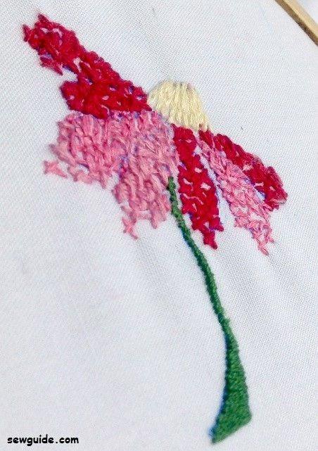 filling stitch cross stitch