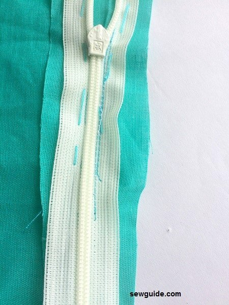 sew invisible zippers