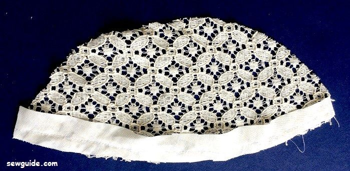 lace yoke blouse free sewing pattern