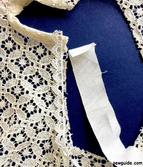 how to sew a yoke top