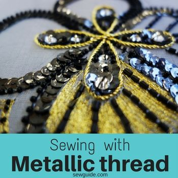 sewing with metallic thread
