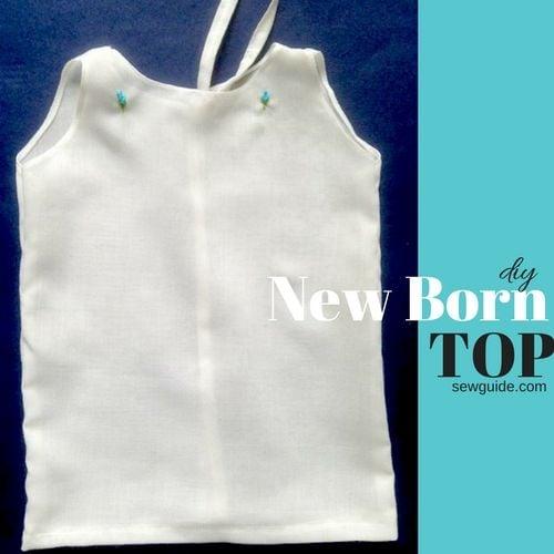 new born dress/ top pattern