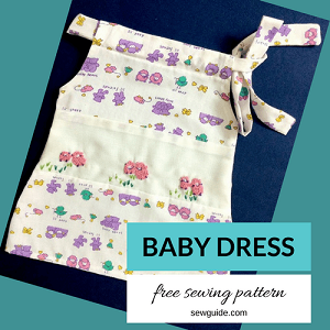 baby dress DIY pattern