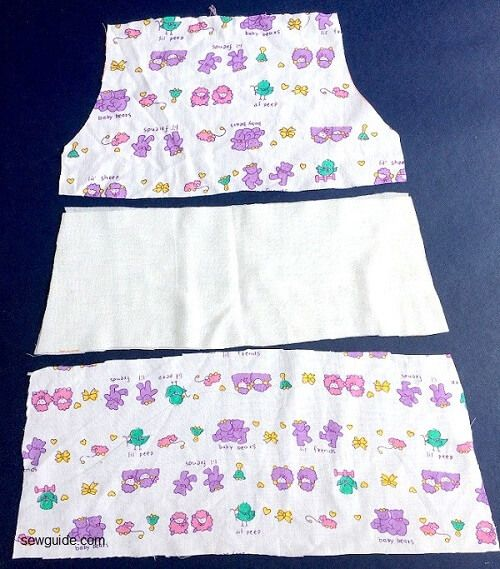 how to sew a baby girl dress