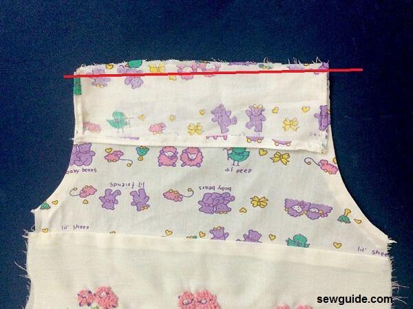 make a baby dress