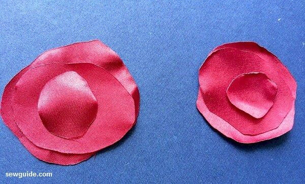 how to make fabric rose flowers