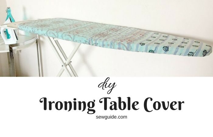 diy ironingtable cover