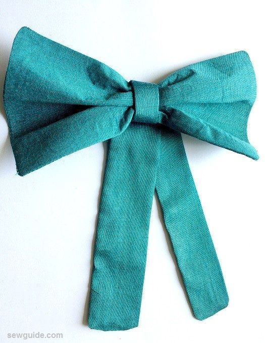 how to make a giant bow