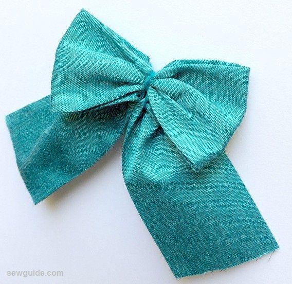 Make a big bow