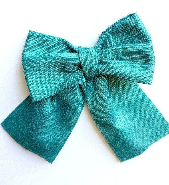 tutorial for making a large bow