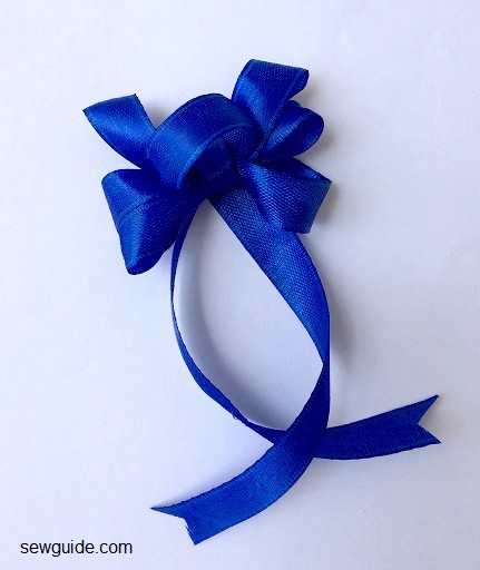 diy ribbon bow making instructions