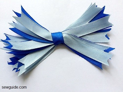 ribbon bow diy tutorial