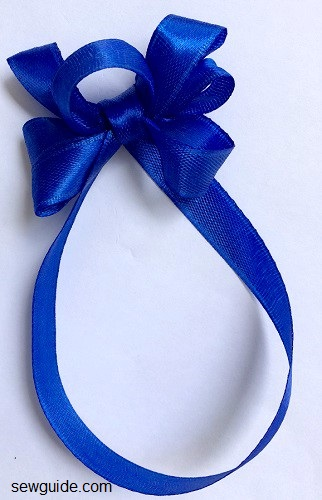 ribbon bow making instructions
