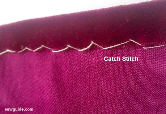 sewing velvet