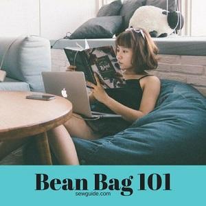 Make an easy Bean Bag {DIY Sewing pattern}