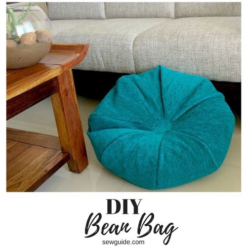 A Super Easy Diy Bean Bag