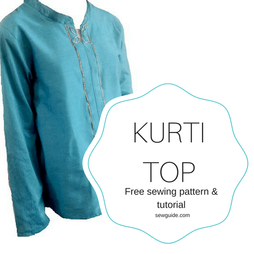 kurti top sewing pattern