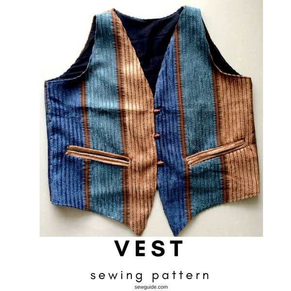 Make a simple Vest - Free pattern - Sew Guide