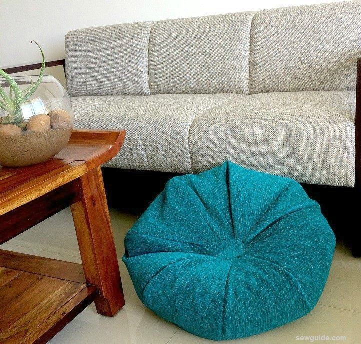diy bean bag cover