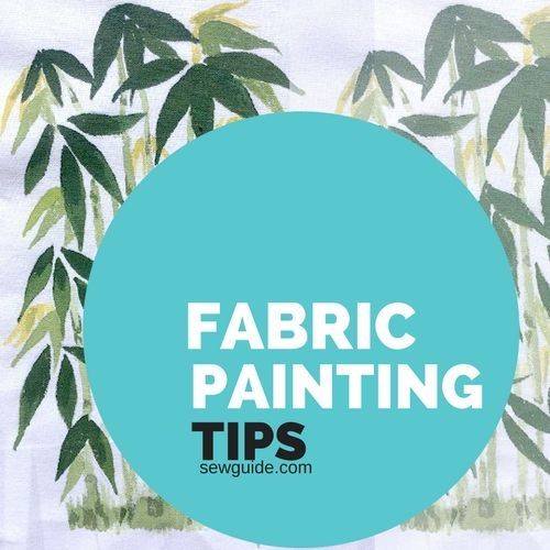 fabric hand painting diy