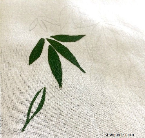 how to do fabric painting on cloth