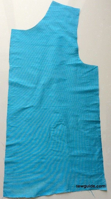 kurti top cutting and stitching