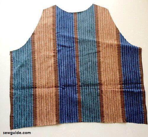 how to sew vest