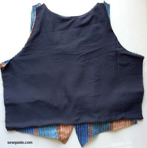 simple vest sewing pattern