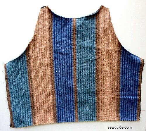 vest sewing pattern
