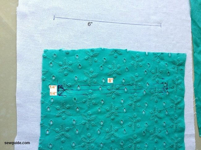 welt pocket tutorial
