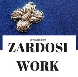 zardosi embroidery work