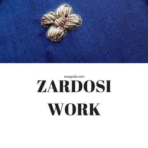 how to do zardosi work
