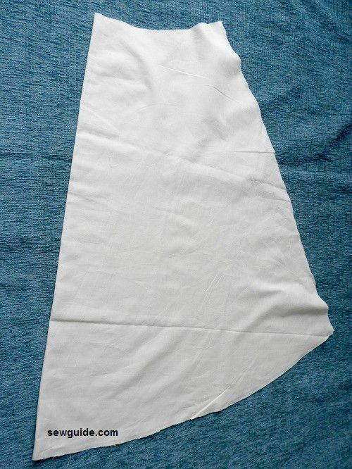 Make a simple A-Line SKIRT - DIY Pattern and sewing tutorial