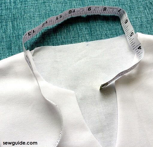 how to sew mandarin collar