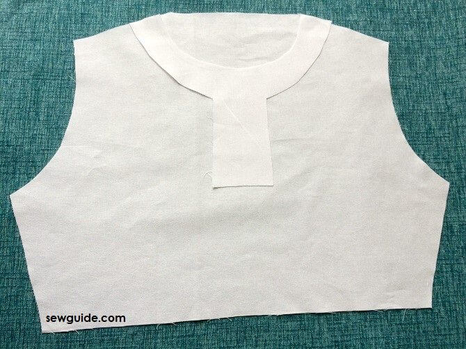 how to sew chinese collar