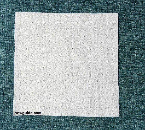 how to make mitered corners on napkins