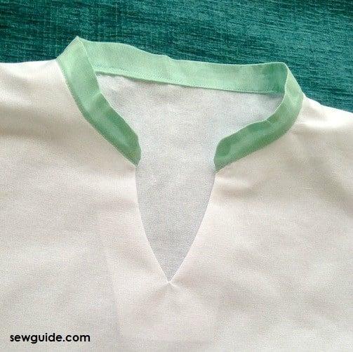 chinese band collar diy